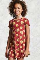 Forever 21 Girls Floral Swing Dress (Kids)