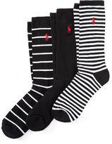 Polo Ralph Lauren Bar Stripe Sock 3-Pack