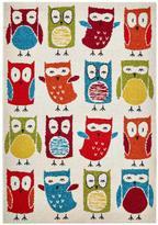 Very Owl Print Rug