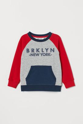 H&M Pocketed sweatshirt