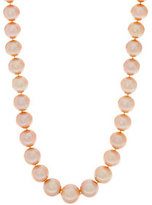 """Honora 14K Gold 12.0mm - 15.0mm Ming Cultured Pearl 36"""" Necklace"""
