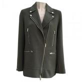 Alexander Wang Green Wool Coat for Women