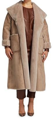 Marina Rinaldi, Plus Size Efficace Faux Shearling Jacket