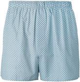 Sunspel diamond zigzag print boxers - men - Cotton - M