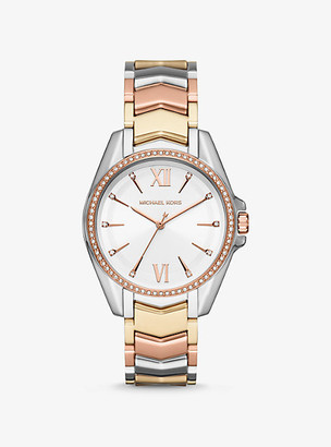 Michael Kors Whitney Tri-Tone Watch - Tri Tone