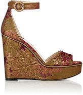 Paul Andrew Women's Adalet Platform-Wedge Sandals-GOLD