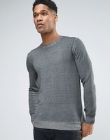 Sisley Jumper In Oil Wash
