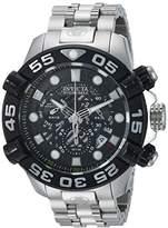 Invicta Men's 'Hydromax' Quartz Stainless Steel Casual Watch