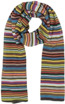 Paul Smith Multi-Coloured Stripe Knit Men's Scarf