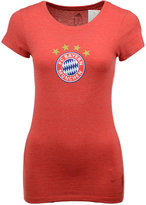 adidas Women's Bayern Munich International Soccer Club Team Crest T-Shirt