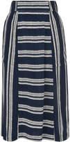 Whistles Adina Stripe Skirt