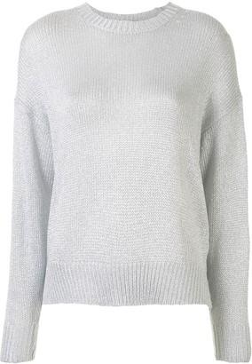 IRO Metallic-Thread Knitted Jumper