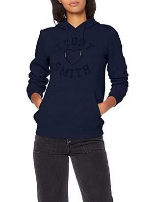 Teddy Smith Women's Sofrench Uni Sweatshirt,(Size: 3/L)