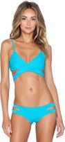 L-Space LSPACE Chloe Wrap Bikini Top