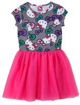 Hello Kitty Girls' Dress - Grey