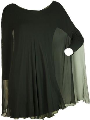 STEPHAN JANSON Black Silk Dress for Women