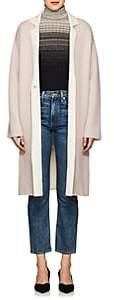Giorgio Armani Women's Double-Faced Cashmere-Blend Coat - Pink
