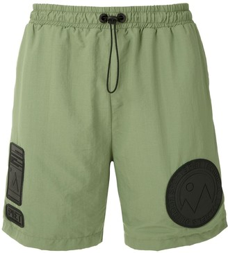 Piet Water patches shorts