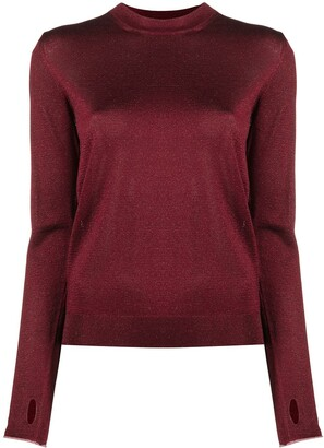 Paul Smith Glitter Crew-Neck Sweater
