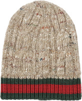Gucci Cable Knit Beanie