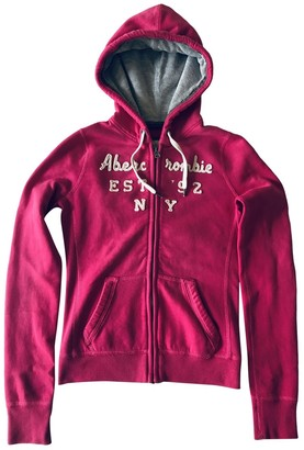 Abercrombie & Fitch Pink Cotton Knitwear for Women