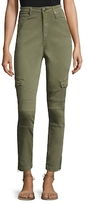 True Religion Halle Mid Rise Cargo Straight Fit jeans