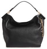 Dolce & Gabbana Miss Sicily Leather Hobo - Black