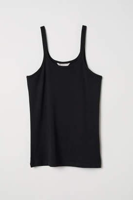 H&M Viscose Jersey Camisole Top - Black