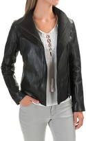 Bod & Christensen Moto Leather Jacket (For Women)