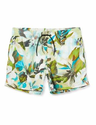 Hom Men's Savannah Beach Boxer Swim Trunks