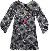 Rare Editions Long Split Sleeve Shift Dress - Preschool Girls