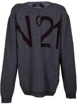 N°21 N 21 Logo Detailed Sweater