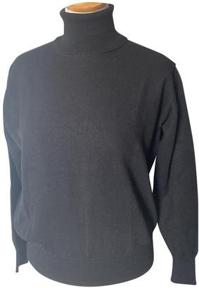 Cerruti Black Wool Knitwear
