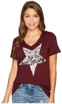 Converse Metallic Star Photo Fill Short Sleeve Tee Women's T Shirt