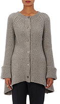 Co Women's Oversized A-Line Cardigan-GREY