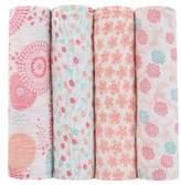 Aden Anais aden + anais x Tea Collection 4-Pack Swaddling Cloths