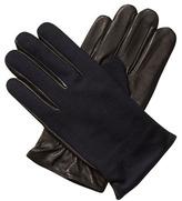 Scotch & Soda Leather & Wool Gloves