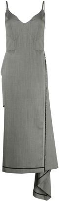 Litkovskaya Asymmetric Sleeveless Dress