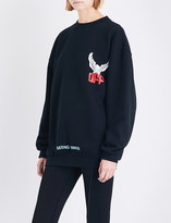 Off-White Eagle cotton-jersey sweatshirt