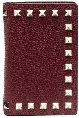 Valentino Rockstud bi-fold wallet
