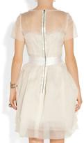 Lanvin Layered Silk-organza Dress - Off-white
