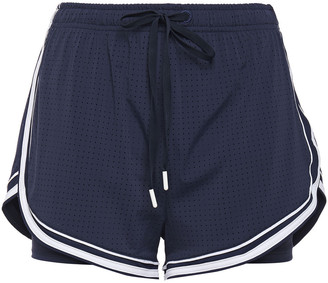 The Upside Eddie Perforated Stretch Shorts