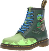 Dr. Martens Unisex Leo TMNT 8-Eye Lace Up Boot (10 UK / 12 B(M) Womens US / 11 D(M) Mens US)