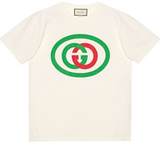 Gucci Oversized T-shirt with GG print