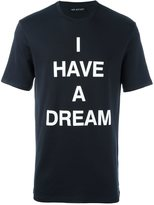 Neil Barrett 'I have a dream' T-shirt