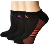 adidas climacool Superlite 3-Pack No Show Socks Women's No Show Socks Shoes
