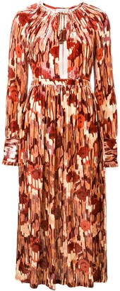Ulla Johnson Printed Long Dress