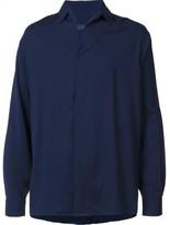 Lanvin concealed front fastening shirt