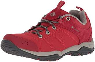 Columbia Women's Fire Venture Textile Low Rise Hiking Shoes, Red (Mountain Red/ Kettle), Size 8.5