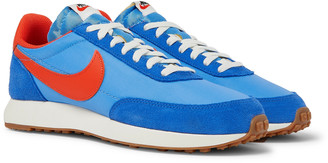 Nike Tailwind 79 Shell, Suede And Leather Sneakers